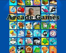 Online Arcade Games Website 100% Automated With 2 Months Free Hosting Adsense
