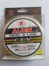 1 Reel Monofilament Fly Alien 0,40 mm 300 M Hold 13,500 kg x Fishing Reel XT77