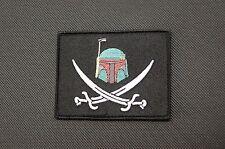 Boba Fett Calico Jack Morale Patch Mandalorian Bounty Hunter Star Wars VELCRO®