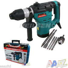 HEAVY DUTY 1200W ROTARY SDS HAMMER DRILL 240V QUALITY CORDED DRILL