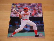 Johnny Bench Reds Officially LICENSED 8x10 Color Photo  FREE SHIPPING 3/MORE