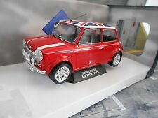AUSTIN BL MINI Cooper S 1.3 i Injection rot red Union Jack GB 1997 Solido 1:18
