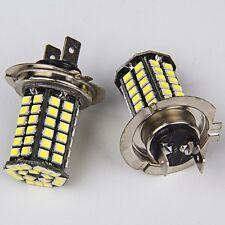 2x Super Bright H7 White 16W 2000LM DRL Fog/Driving Head Tail LED Light Bulbs