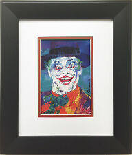 "LeRoy Neiman ""The Joker"" Newly CUSTOM FRAMED Art Print BATMAN Jack Nicholson DC"