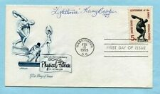 LIGHTHORSE HARRY COOPER signed & DATED 1965 sport cover (Masters, Golf, FDC)