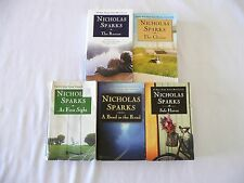 Nicholas Sparks-Rescue, Choice, At First Sight, Bend in the Road, Safe Haven