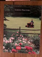 1993 Toro Wheel Horse Sales Brochure Good Condition