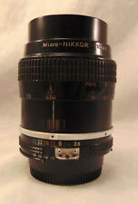 NIKON MICRO-NIKKOR 55MM F3.5 MANUAL FOCUS AI LENS