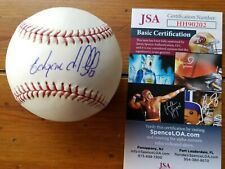 Edgardo Alfonzo signed official ML baseball Ny Mets  JSA coa