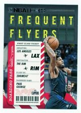 2020-21 NBA Hoops PAUL GEORGE Frequent Flyers insert card #6