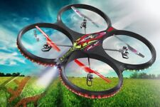 Quadrocopter RC Flyscout AHP+ Drone con Bussola / LED / Fotocamera Jamara 038540