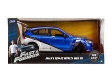 Jada Diecast Metal 1:24 Fast and Furious Brian's Subaru Impreza WRX STI