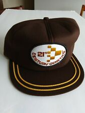 Vintage 21st Century Snapback Trucker Hat Cap Patch K Brand USA Made Never Worn
