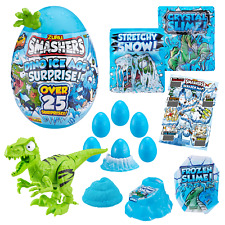 SMASHERS-SERIES 3 Dino Ice Age Surprise Large Egg Ice Raptor