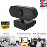 1080P Full HD Web Camera USB Webcam with Microphone for Live Class Conference