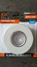 Ruban double face, rouleau adhésif double face 19 mm x 2.2 mètres