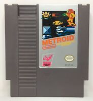 Nintendo NES Metroid Video Game Cartridge *Authentic* *Cleaned/Tested*