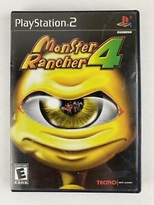 Monster Rancher 4 (Sony PlayStation 2, 2003) PS2 Original Case and Manual Only