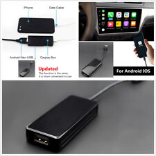 USB Smart Link Apple Carplay Dongle Box For Android IOS Navigation DVD Player!