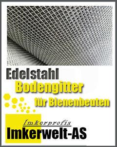 Bodengitter aus Edelstahl Drahtgitter für Bienenbeuten Drahtgewebe 100x52 cm