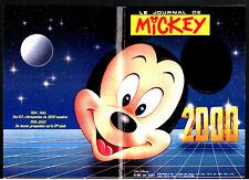 LE JOURNAL DE MICKEY n°2000 ¤ 1990 ¤ SANS CADEAU / 5 QUESTIONS A ELSA