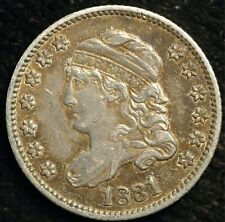 More details for usa 5 cents half dime 1831 classic head km#47 (t33)