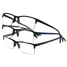 70c9c2d103a Design Optics Foster Grant Semi-rimless Flexible Plastic 2.00 Glasses 3pk