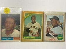 New listing 1961,1966, 1968 Willie Mays Topps Baseball Cards