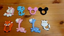 Teether Silicone Massage Chew Gums Teething Toy Animal Baby Toddler