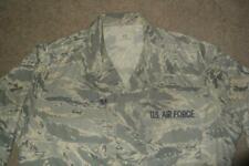 Military ABU Shirt 42L Man's Tiger Stripes Airman Battle Uniform USAF #305