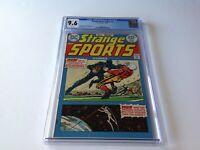 STRANGE SPORTS STORIES 3 CGC 9.6 WHITE PS KNIGHT KNIGHTMARE FOOTBALL DC COMICS