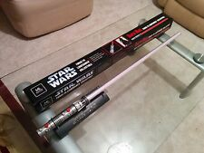 Darth Maul Master Replicas lightsaber forcefx not hasbro