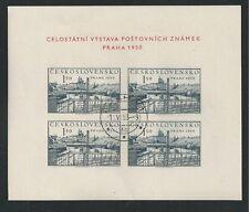 CHECOSLOVAQUIA # 434a USADO PRAGUE 1950