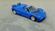 1:43 1/43 Diecast Pagani Zonda Blue Model Car