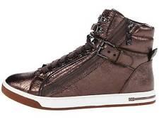 Michael Kors Leather Medium (B, M) Athletic Shoes for Women