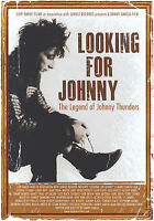 JOHNNY THUNDERS 'Looking For Johnny' new documentary film A2 POSTER 59x40cm