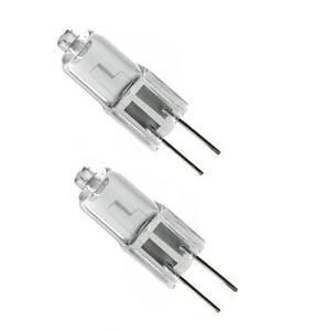 2 x ECO 14W = 20W JC G4 12V Clear Halogen Lamp Light Bulb Bulbs