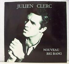 45T MAXI JULIEN CLERC Disque Vinyle NOUVEAU BIG BANG - VIRGIN 80557 Frais Reduit