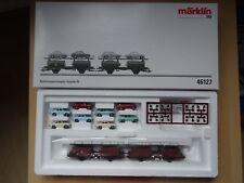 Märklin HO Art 46127 Autotransporter beladen mit 8 PKW  Ep 4    neu/OVP