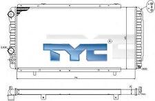 TYC Motorkühler Autokühler Kühler Wasserkühler CITROËN FIAT PEUGEOT 709-0014-R