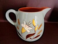 Vintage Stangl Golden Harvest Pottery 64 Ounce Water Pitcher (Cat.#7A056)