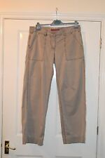 "FCUK Jeans pale grey. Size 14. Waist 36"" Leg 29"". 100% cotton."