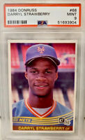 1984 Donruss Darryl Strawberry ROOKIE RC #68 PSA 9 MINT Rare