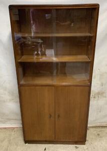 Vintage Narrow Bookcase - B&S Goodman - Roseberry- Retro