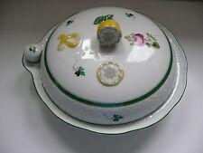 Herend porcelain hot water warming dish - Vienna Rose VRH pattern