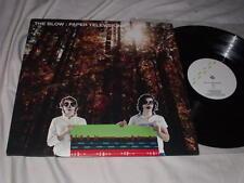THE BLOW Paper Television (2006) LP K Records Indie Rock Khaela Maricich