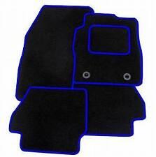 FORD FIESTA Mk6 2002 - 2008 Tailored 4 Piece Car Floor Mat Set Blue Trim