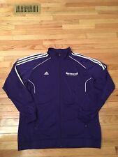 Northwestern Wildcats Ncaa Team Issued Used Men's Basketball Warm Up Jacket