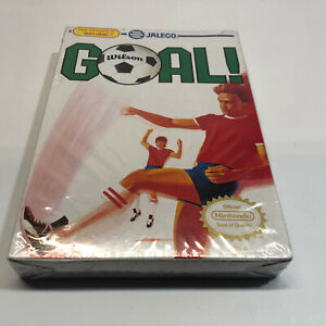 Goal Nintendo NES GOAL! Jaleco, sealed with some box wear, READ DESCRIPTION, NEW