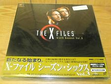 X-FILES LASERDISC BOX SET 6th SEASON Vol 3 BRAND NEW & FACTORY SEALED